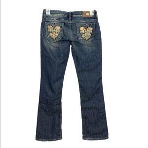 GUESS Premium Daredevil Bootcut Jeans 28 X 30